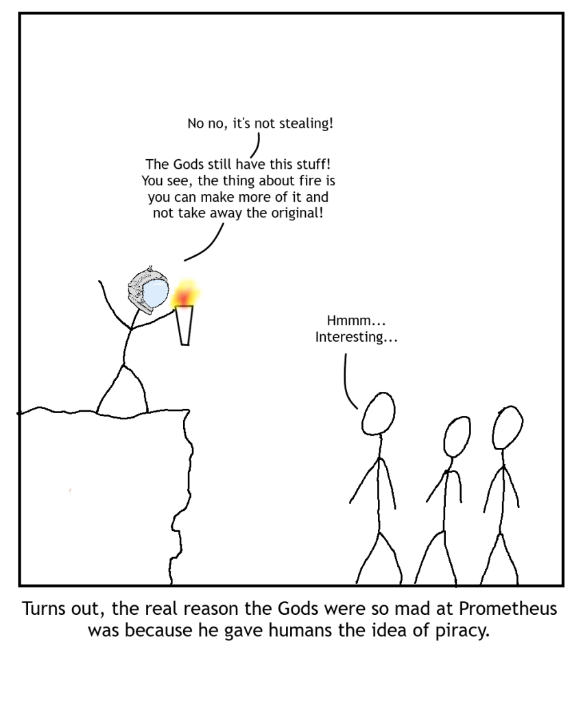 Greek mythology was far ahead of its time